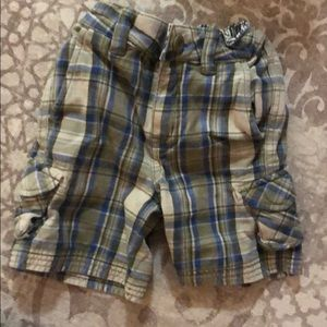 Hanna Andersson plaid boy shorts